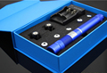 B008 High power 50000m 450nm Blue laser pointer flashlight burn match cigarretes include 16340 battery and charger