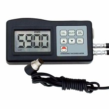 Handheld Digital Ultrasonic Thickness Gauge Meter 1.0~200mm (0.039~7.87in) Measuring Range Tester Metal/Non-Meta