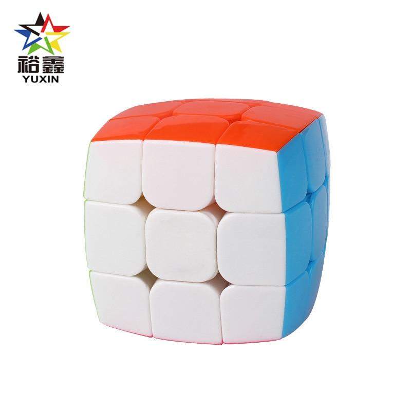YUXIN professionnel 3x3x3 pain sans bâton magique Cube vitesse Puzzle 3x3 Cube jouets éducatifs cadeaux 57mm