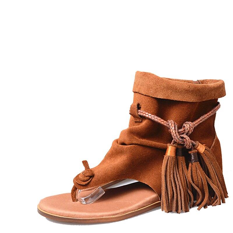2017 Весна и Лето бинты и модная женская обувь стиль, стиль обуви, стильные сандалии на плоской подошве Комфортная одежда