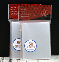 50 PCS SET Transparent Card Sleeves Cards Protector For Board Game Cards Magic The Gathering Yugioh