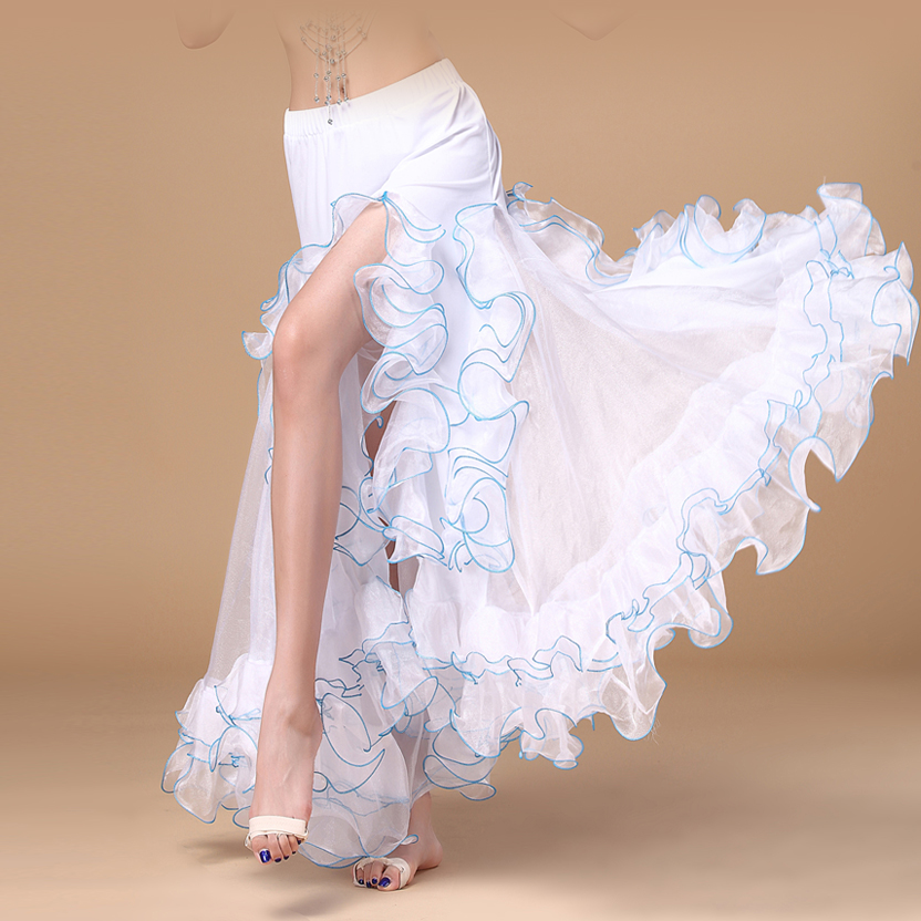 2016 وصل حديثا بطن ملابس الرقص دائرة - منتجات جديدة