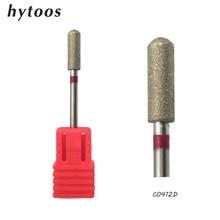 HYTOOS 3Pcs/lot Diamond Nail Drill Bit 3/32″ Rotary Burr Manicure Bits Nail Drill Accessories Nail Mill Tools