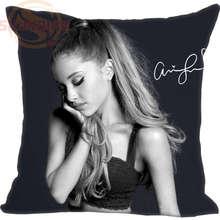Mejor Nueva Ariana grande Caja de Regalo Personalizado Para Funda de almohada Funda de Almohada Almohada Decorativa De la Boda YJW #15