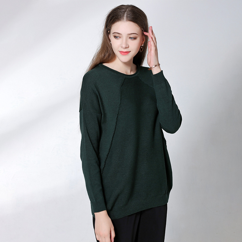 2017 Pullover Sweaters Women Knitted Autumn Winter Fall Fashion Pullovers Cape Poncho Christmas Unif Jumper Women Knitwear Tops
