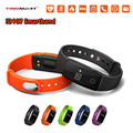 ID107 Smart Band Bluetooth Smart Bracelet Heart Rate Monitor Wristband Fitness Tracker Smartband for Android iOS PK mi band 2