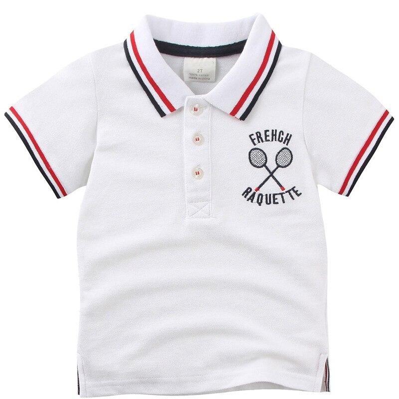 Jongens Poloshirts Kinderkleding 2018 Zomer Shirt met korte mouwen - Kinderkleding - Foto 1
