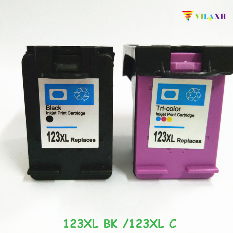 US $25 44 19% OFF|vilaxh 123 Compatible Ink cartridge Replacement for HP  123 xl 123xl Deskjet 2130 2132 3630 1110 Printer deskjet 2130 cartridge-in