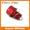 CNC Aluminum Magnetic Oil Drain Plug Bolt Fit For RVF750 VFR750 VFR800 CBR900RR CBR954RR CBR1000RR RVT1000R VTR1000F ST1100