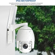Super Mini 2.5 Inch PTZ Speed Dome WIFI IP Camera 1080P Outdoor 5X Zoom / 4mm Fixed Lens Wireless IR 60m Two Way Audio