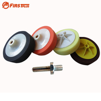 150 180mm Car Polishing Sponge Wheel Pad Kit Buffing Grinding Abrasive Disc With M14 Drill Adapter