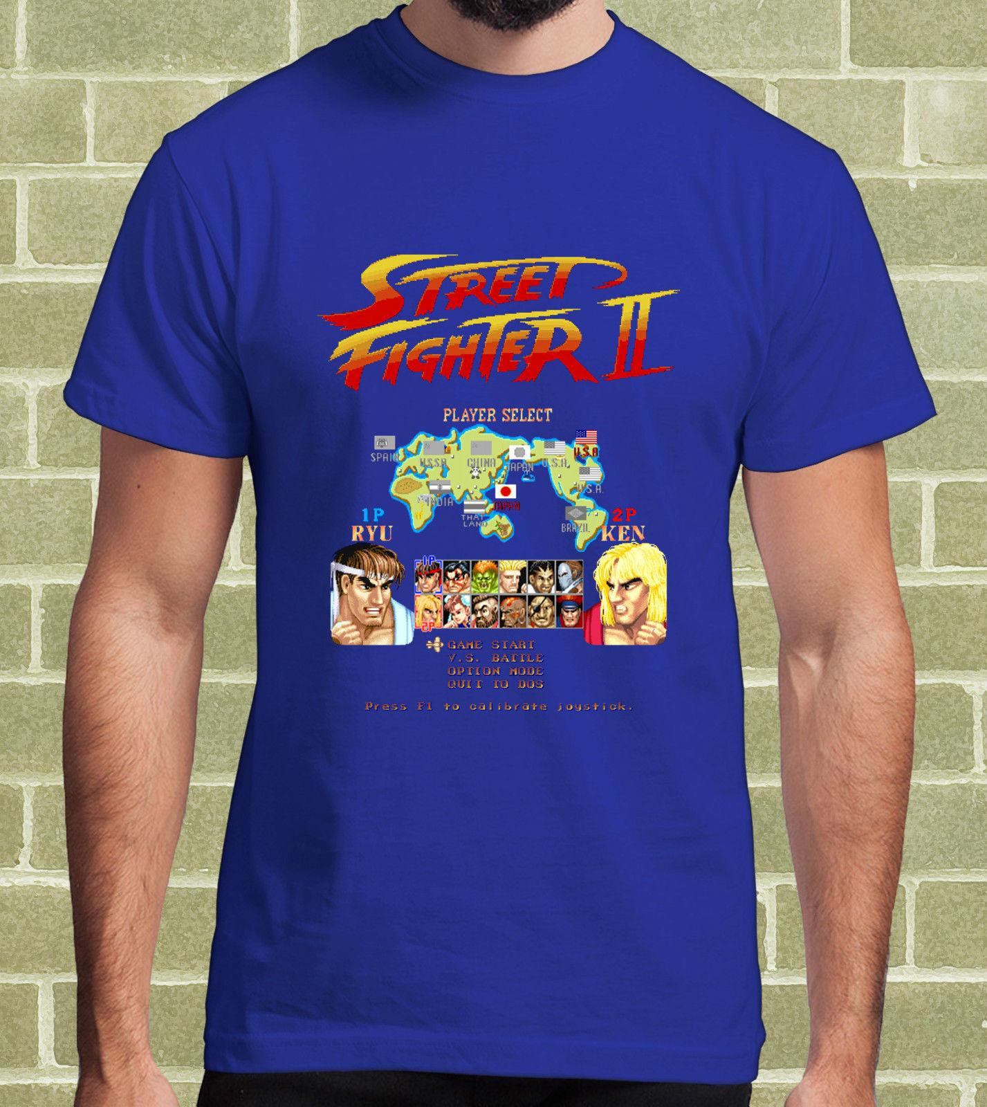gildan-street-fighter-2-street-fighter-ii-fontbvideogame-b-font-arcade-t-shirt-per-uomo-e-bambino-me