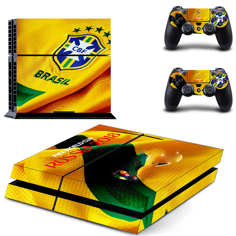 Image 4 - HOMEREALLY Stickers 2018 RU world cup PS4 Skin Cover For Sony PlayStation 4 Console and Controller Skin Ps4 Accessory Sticker-in Stickers from Consumer Electronics