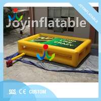 Outdoor Inflatable Bungee Airbag for Stunt,Trampoline Amusement Adventure Park with Inflatable pad,Inflatable Jumping Pillow