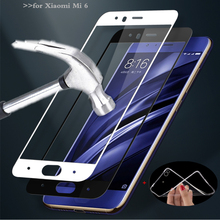 MPCQC 2.5D 9H HD tempered full cowl tempered glass For xiaomi mi 6 mi6 display screen protector glass Movie 5.15″