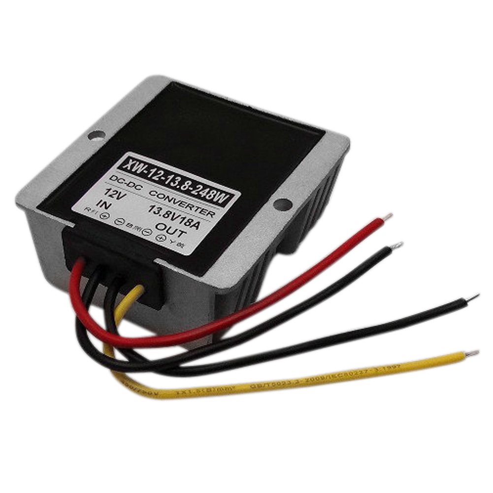 <font><b>12V</b></font> Step Up To 13.8V 18A 248W <font><b>DC</b></font> Power Supply <font><b>Adaptor</b></font> Regulator Boost Module Photovoltaic Energy Converter image