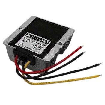 12V Step Up To 13.8V 18A 248W DC Power Supply Adaptor Regulator Boost Module Photovoltaic Energy Converter