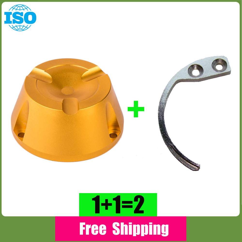 ФОТО Super detacher hook 1 piece+1 piece 13000GS eas security tag detacher anti theft tag removal in gold color free shipping