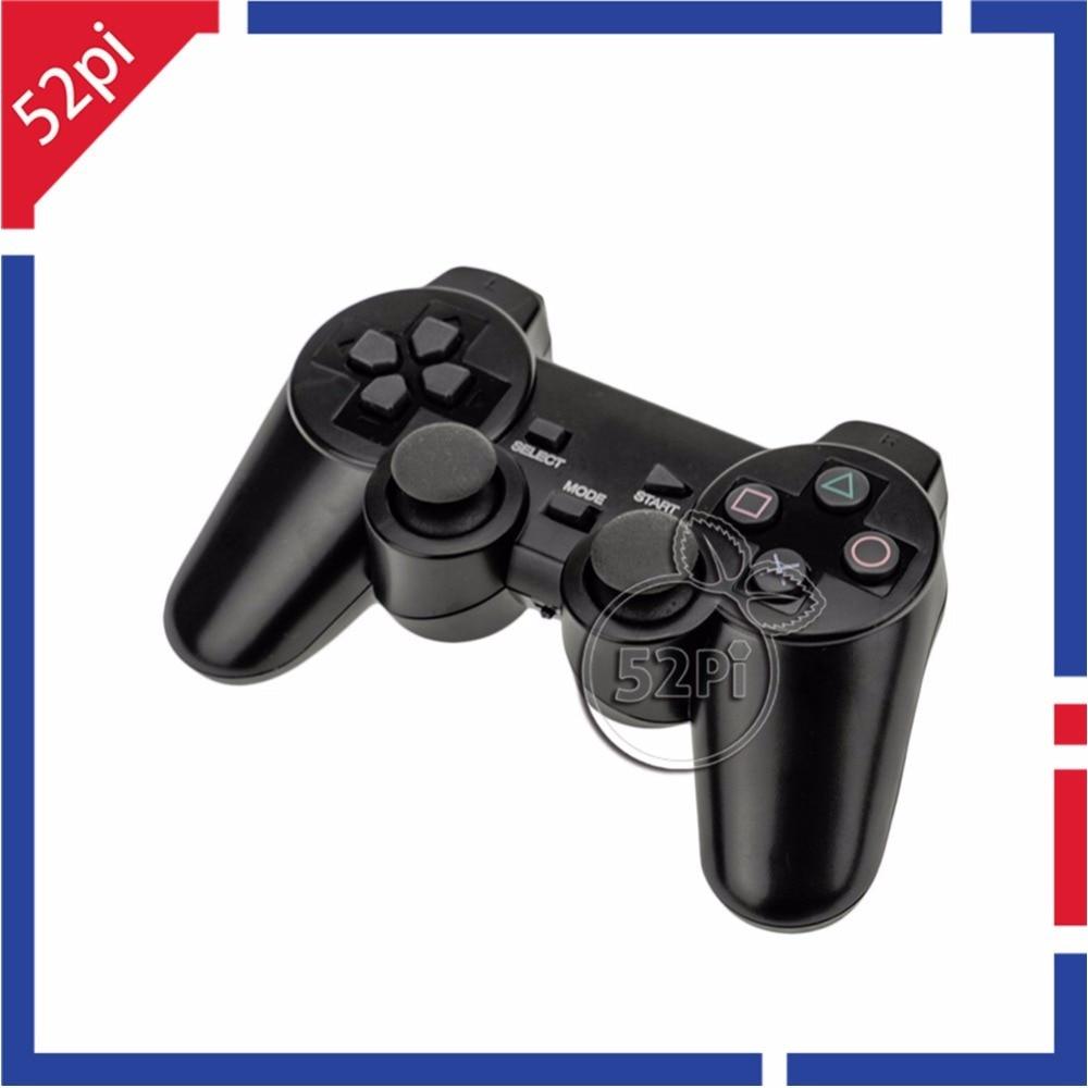 Neznačkový bezdrôtový herný ovládač pre PS3, PS2, PC, a Raspberry Pi 3 Retropie