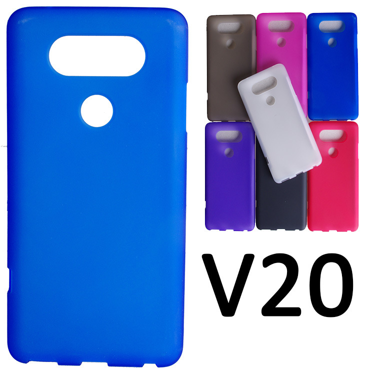Matte Soft TPU Gel Case For LG V20 Case Dual SIM For LG V 20 Cover Mobile Phone Cases Free Shipping