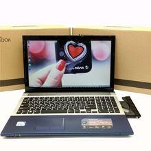15 дюймов игровой ноутбук Записные книжки компьютер с DVD 8 ГБ DDR3 ОЗУ 750 ГБ HDD в тел Celeron J1900 Quad Core 2.0 ГГц WI-FI веб-камера HDMI