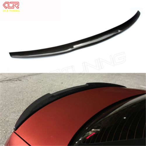 M3 Style For BMW E92 Spoiler 3 Series 2 Door E92 M3 & E92 Coupe Carbon Spoiler 2005 - 2012 bmw m3 e30 coupe