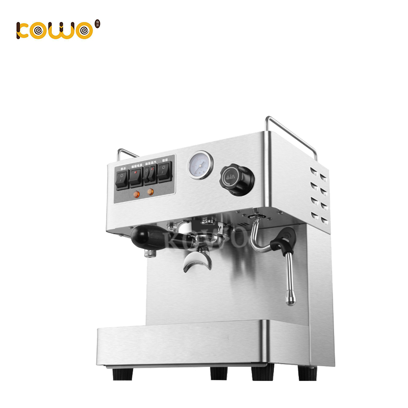 Semi automatique Italien conception ménage espresso machine à café maker pour café et restaurant