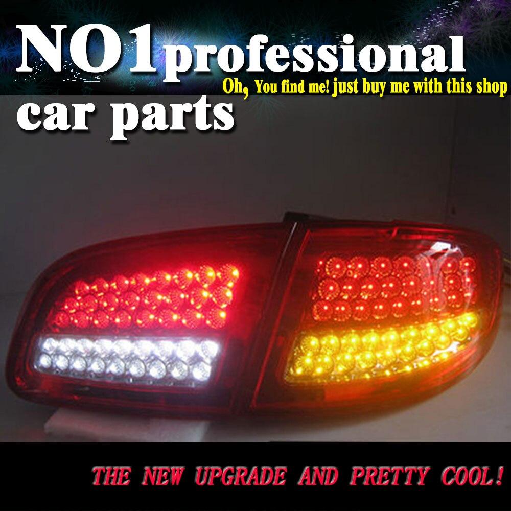 Car Styling 2007-2013 For Hyundai Santa Fe taillights  LED Tail Lights  Rear Lamp LED DRL+Brake+Park+Signal Stop Lamp