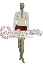 Soul eater maka albarn uniforme shcool dress outfit uniforme traje cosplay para carnaval del partido de cosplay