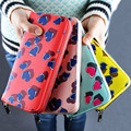 Heart-shaped Wallet Female Han Edition Style Zipper Long Wallet Printed Candy Color Cute Girls Wallet Casual Coin Purse Y22
