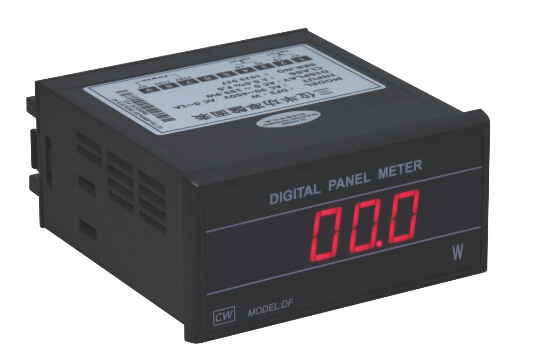 Fast arrival DF3-W digital power meter range 200W,working voltage AC110V/220V ,96*48*105mm цена
