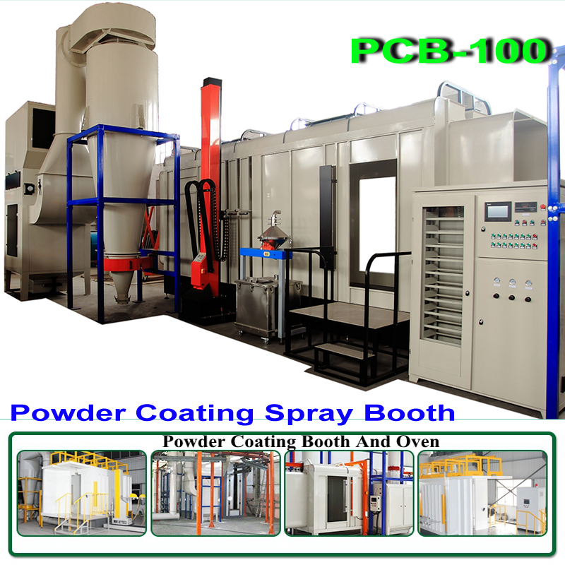 PCB 100 Big Cyclone Recovery System Automatic Powder