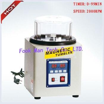 цена на 220V 800g Capacity Jewelry Goldsmith Tools Magnetic Tumbler Gold Polishing Machine Tumbler Polishing Machine