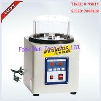 220V 800g Capacity Jewelry Goldsmith Tools Magnetic Tumbler Gold Polishing Machine Tumbler Polishing Machine