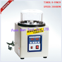 220V 800g Capacity Jewelry Goldsmith Tools Magnetic Tumbler Gold Polishing Machine Tumbler Polishing Machine