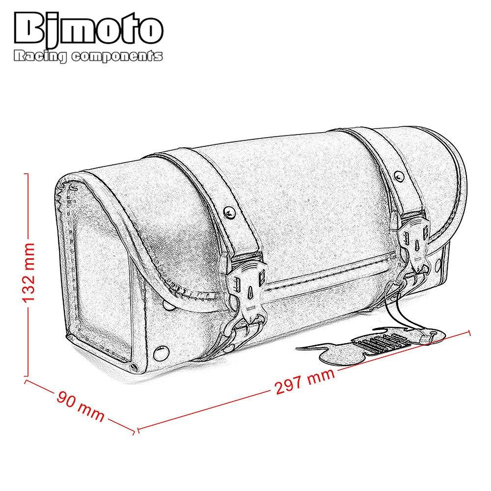 cheap bolsas para selim couro 02