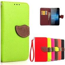 Lumia 950 case cubierta lumia950 lujo billetera de cuero flip case para microsoft lumia 950 con ranuras para tarjetas de teléfono case nokia lumia 950