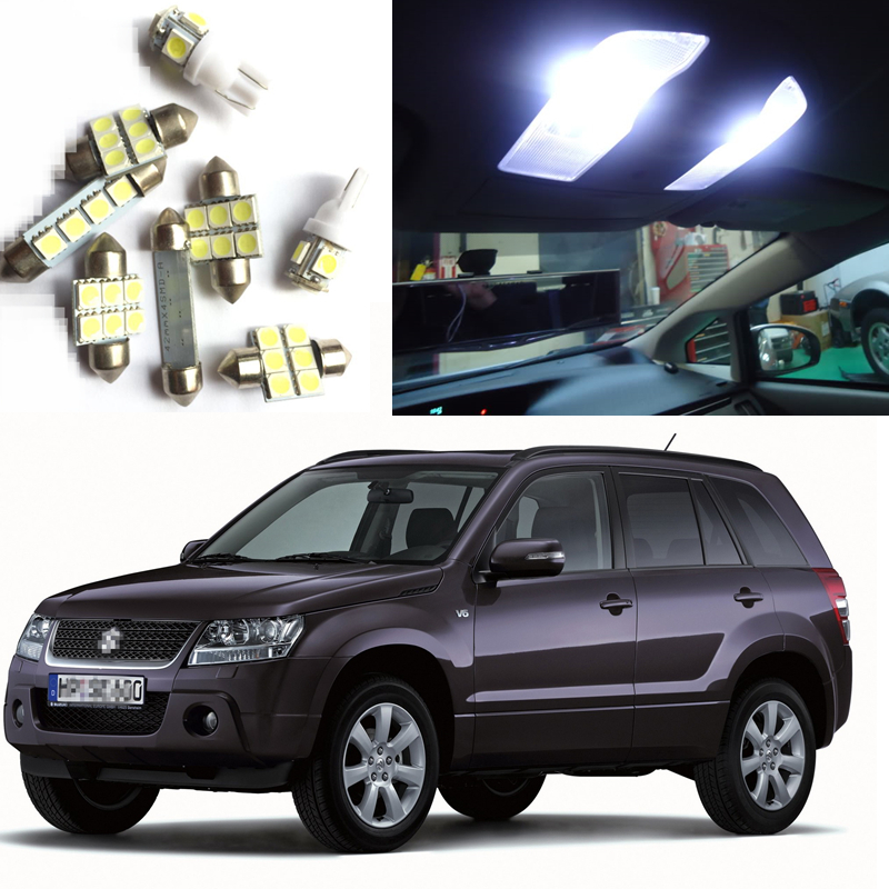Automobiles & Motorcycles Deechooll 14xcar Lamp Led Light Bulbs Interior Lighting For Suzuki Grand Vitara 2006-2013 Reading Dome Door License Plate Lights