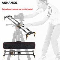Ashanks 100 cm 6 Łożyska Z Włókna Węglowego DSLR Camera DV Suwak Suwak Dla DSLR Stabilizator Toru Kolejowego Toru Wideo lub kamera