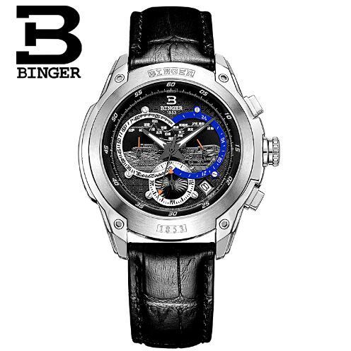 New Binger W Design 2017 men's gift men creative wristwatch unique light sports casual fashion quartz watches цена 2016