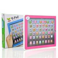 영어 학습 기계 아이 노트북 컴퓨터 LED 알파벳 발음 영어 학습 교육 장난감 교육 컴퓨