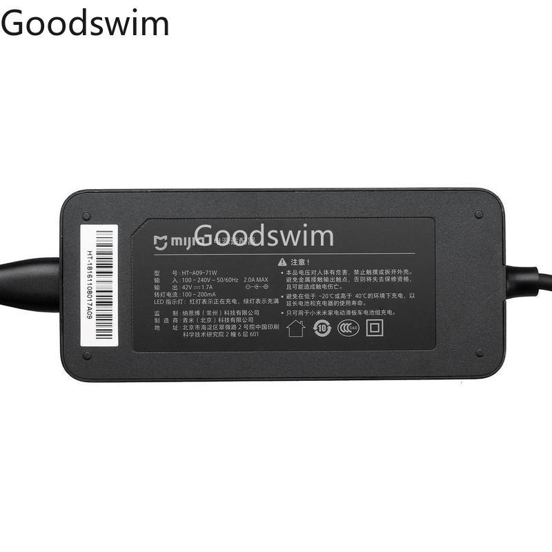 Xiaomi Mijia M365 Scooter 42V 1 7A Original Battery Charger Adapter for M365 Electric Skateboard Scooter