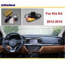 For Kia K4 2015 2016 2017 Car Rear Back Parking Reverse Camera / RCA & Original Screen Compatible