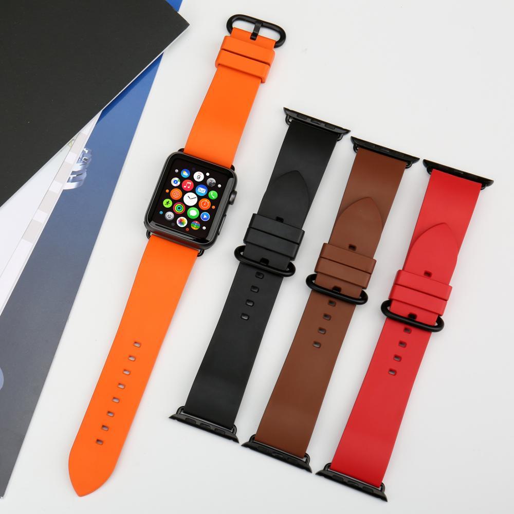 MAIKES Armband für Apple Uhrenarmbänder 42mm 38mm Serie 4 3 2 1 - Uhrenzubehör - Foto 6