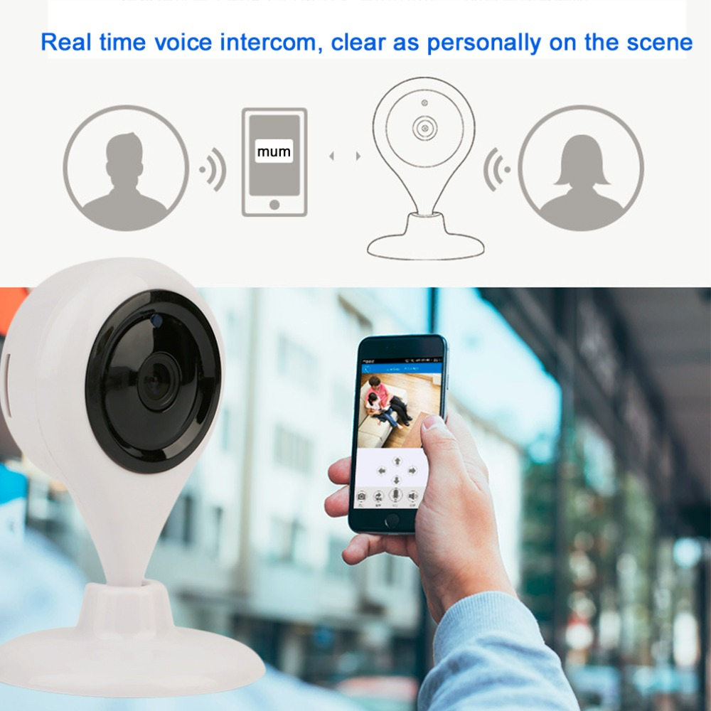 Home Security Water Drops Shape Network Remote Infrared WiFi Monitoring Camera Night Vision 660S-960P-3.6mm 1.3 Million Pixels camera security home hd wireless network smart phone remote wifi night vision security monitoring
