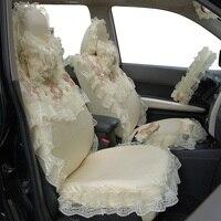 Для женщин кружево покрывает для автокресла подкладке аксессуары украшения 5 мест аксессуары авто стиль подарок девушке декоратор автомоб