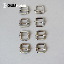20pcs Metal slider adjuster for DIY dog collar accessories 3/4 Inch(20mm) webbing straps Zinc Alloy parts Silver