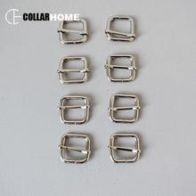 20pcs Metal slider adjuster for DIY dog collar accessories 3/4 Inch(20mm) webbing straps Zinc Alloy DIY parts Silver