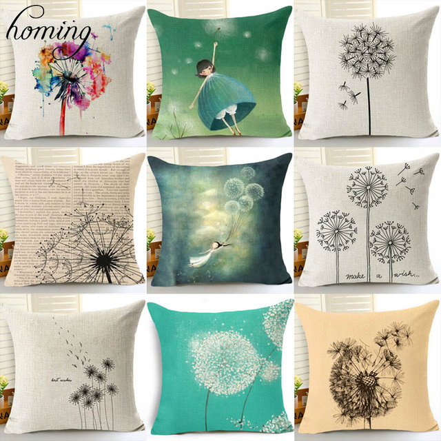 Scenic Modern Cushion Cover For Sofa Seat Cushion Cover Linen