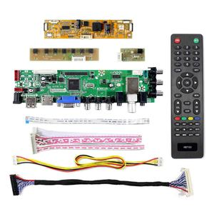 Image 2 - HDMI VGA AV USB ATV DTV LCD Board Work for 23.6 inch 1920x1080 WLED backlight LCD: V236H1 LE2 V236H1 LE4 M236H3 LA2 M236H3 LA3